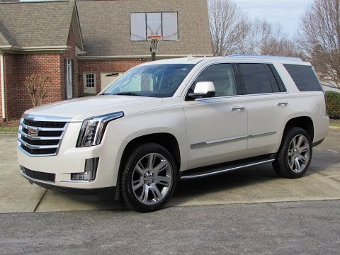 2015 Cadillac Escalade / ESV Start Up, Road Test, and In Depth ...