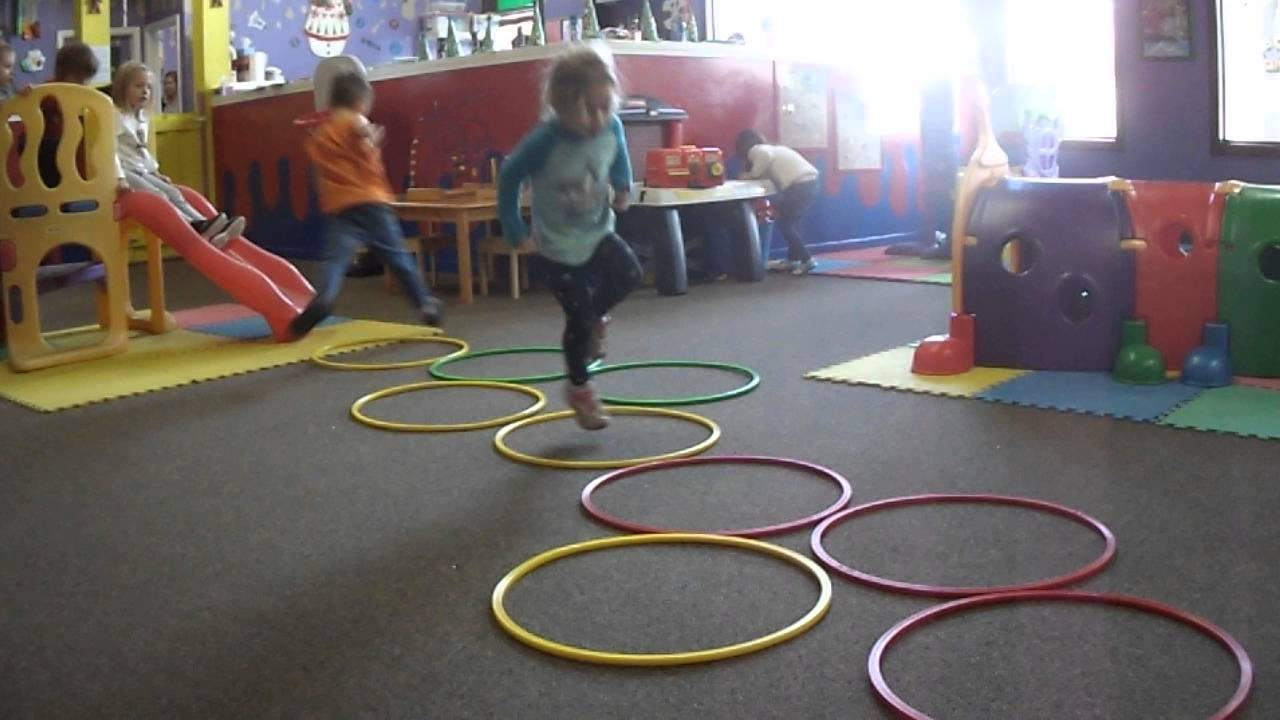 Cochrane Early Learning Centre Hoop Games In The Gross