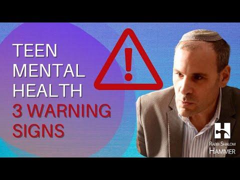 3 Teen Mental Health Warning Signs