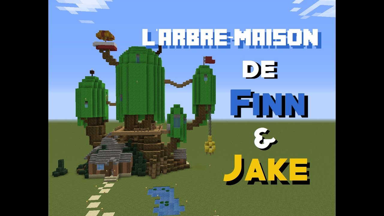 Beliebt MINECRAFT | L'Arbre Maison de Finn & Jake ! (Adventure Time) - YouTube GO76