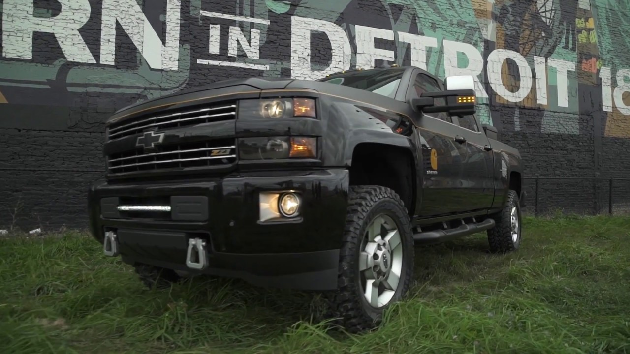 Chevrolet Silverado 2500HD Carhartt Edition Collab - YouTube