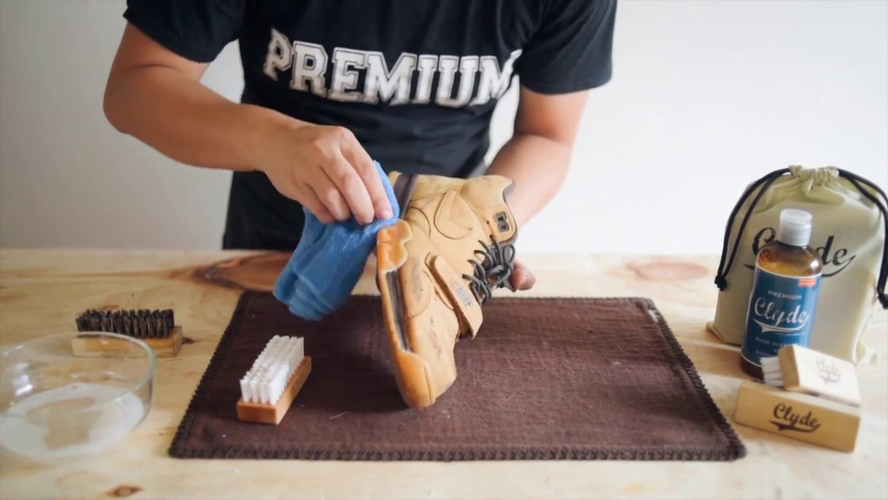 How To Clean Nubuck Leather Shoes