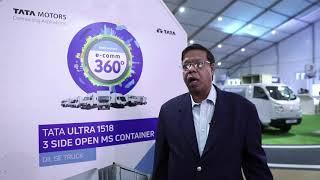 Vikash Mohan COO, DHL SmarTrucking, India at Tata Motors 360° E commerce Expo, Gurugram