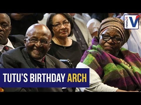 WATCH: Tutu turns 86, unveils monument in his honour