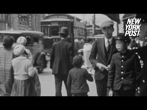 Haunting footage from Hiroshima 10 years before it was nuked | New York Post