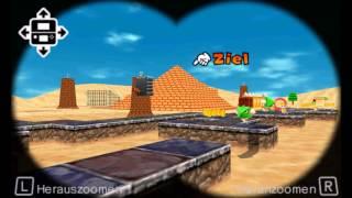 SM64 Shifting Sand Land  in  Super Mario 3D Land  [CUSTOM LEVEL]