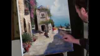 Научиться рисовать маслом, курсы рисования для начинающих в Москве