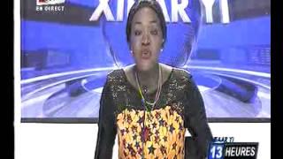 seneweb.com/Journal Wolof 13h00 tfm De Ce Vendredi 20 presenté par Faty Dieng
