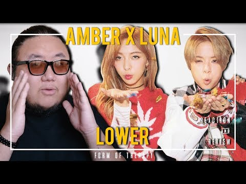 """Producer Reacts to Amber x Luna """"Lower"""""""