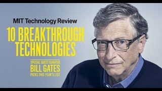 Q\u0026A with Bill Gates | 2019 Breakthrough Technology | MIT Technology Review