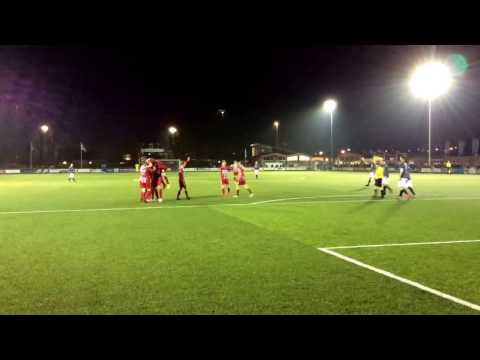 Hoogtepunten bekerwedstrijd Zouaven  - FC De Bilt 2 -0.