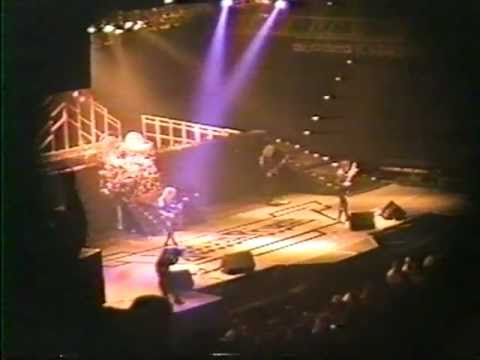 Judas Priest - Ram It Down & Heavy Metal (Live In Miami 1988) [4:3 HQ 480p]