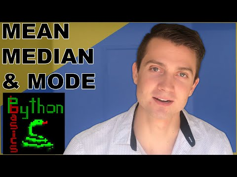 Python Statistics Tutorial - Mean, Median and Mode - Featuring Python Basics thumbnail