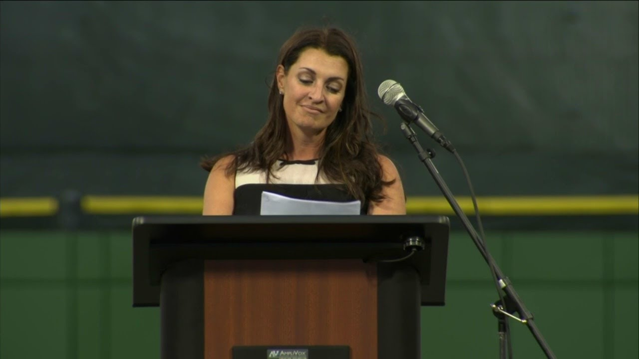 Brandy Halladay gives beautiful speech for Roy Halladay's Baseball Hall of Fame induction