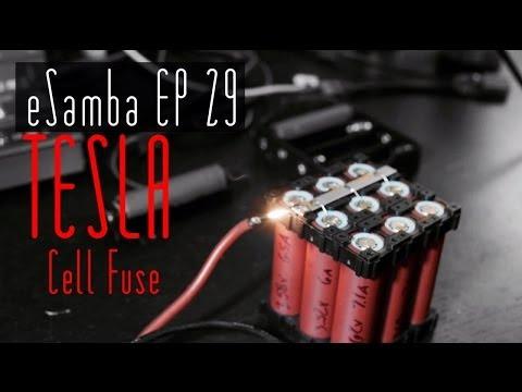 TESLA style battery cell Fuses 18650 DIY EV - eSamba