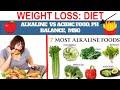 Healthy & Tasty Nutritious Diet Plan||In Hindi||Alkaline vs Acidic Foods,PH Balance,MSG||Health Tips