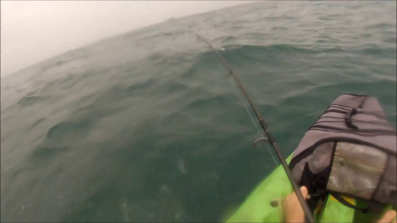 Kayak fishing port aransas jetties youtube for Fishing report port aransas