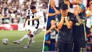Cristiano Ronaldo is officially the 2nd worst free-kick taker in Serie A history | Oh My Goal