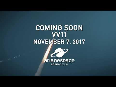 Arianespace Flight VV11 / MOHAMMED VI - A satellite