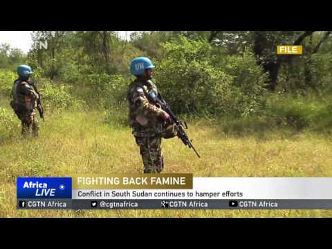Conflict in South Sudan continues to hamper efforts to combat famine