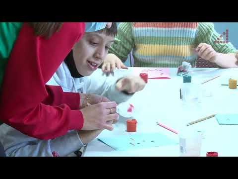 Телеканал «Дитинець»: Унікальний подарунок власноруч: діти з особлививми освітніми потребами відвідали