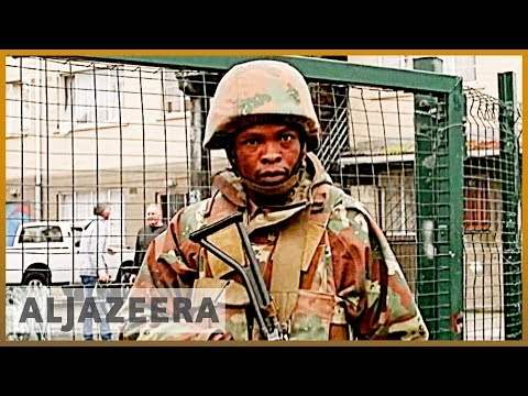 South Africa violence: Army deployment in Cape Town extended from YouTube · Duration:  2 minutes 44 seconds