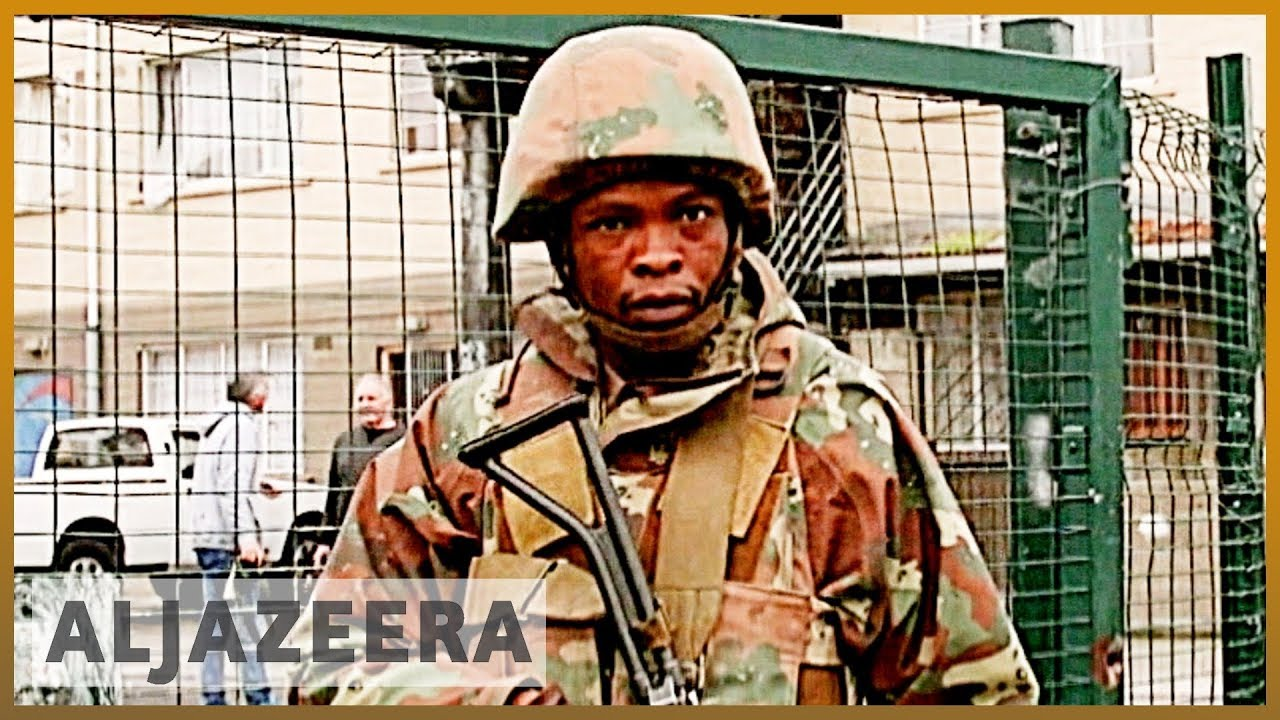 South African Military Is Called In to Quell Violence