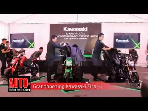 Grandopening Kawasaki Z125
