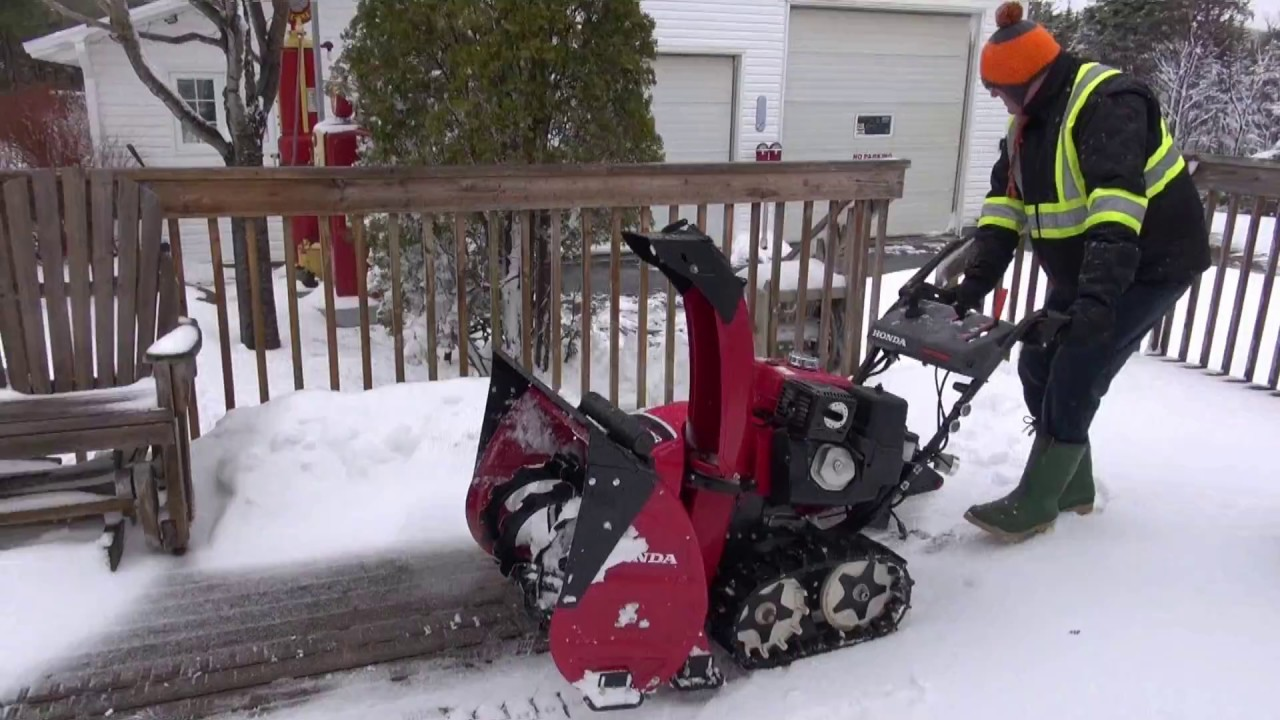 Time For The Honda Snower