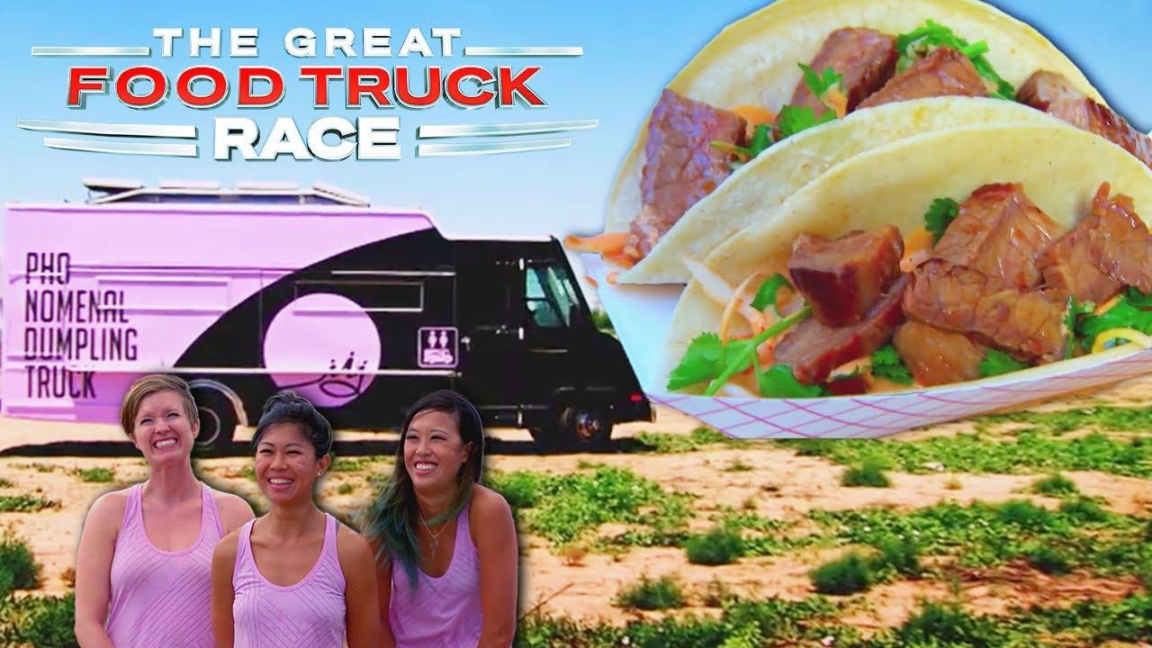 【キッチンカー対決】テキサスのステーキ対決 | 全米横断!フードトラック・レース EP4