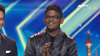 Reflections By Yaashwin Sarawanan - Voting Closed | Asia's Got Talent 2019 O