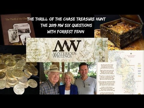 MW's 2019 Six Questions with Forrest Fenn and The Thrill of the Chase  Treasure Hunt
