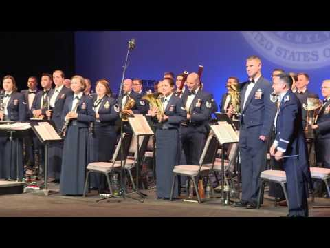 Armed Forces Day Concert - USAF Band of The Golden West - Torrance, CA May 19th 2017