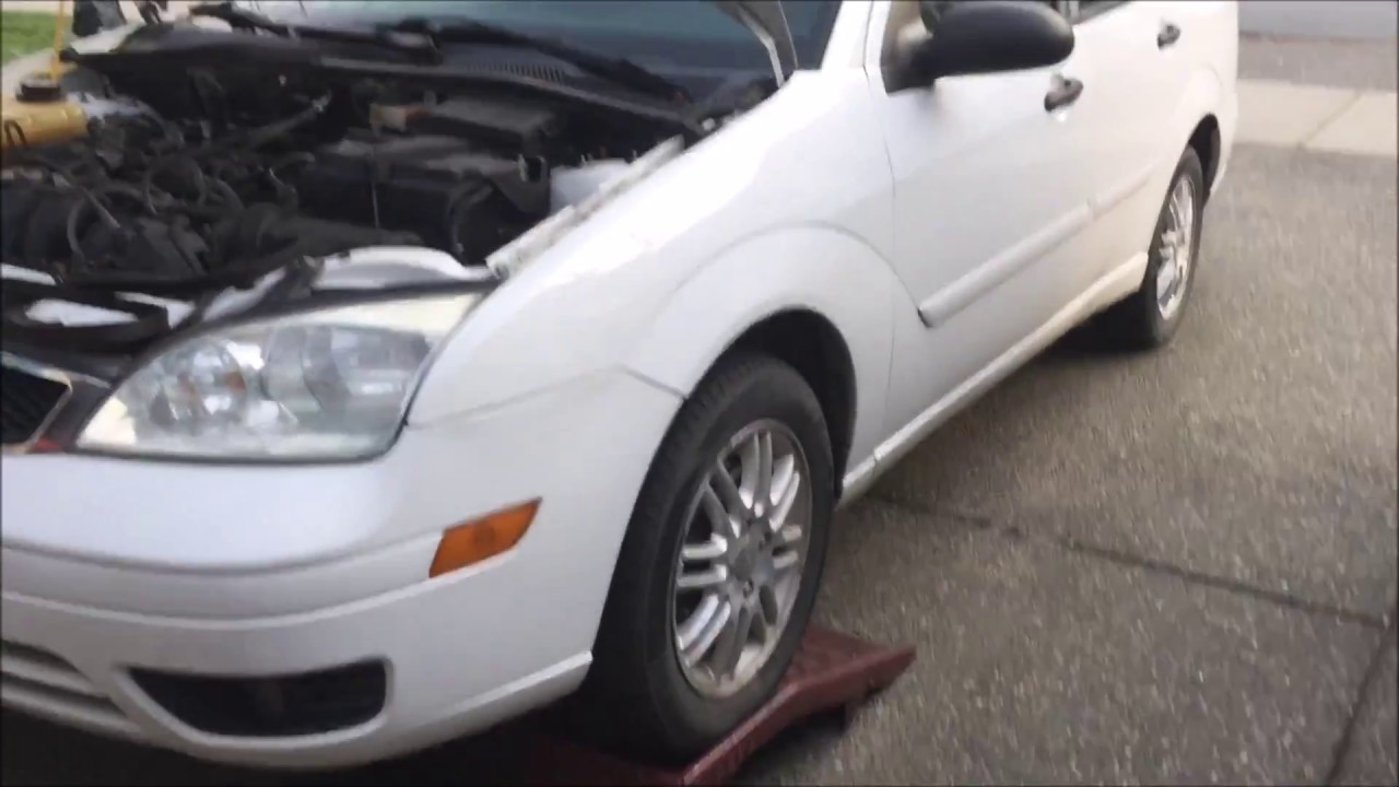Drive Belt Replacement 2007 Ford Focus Youtube Alternator 2006 Location