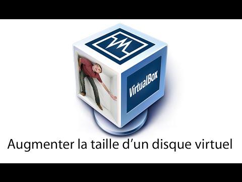 VirtualBox - Comment augmenter la taille d'un disque virtuel ?