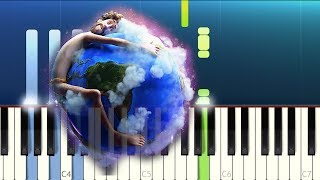 Lil Dicky - Earth (Piano Tutorial)
