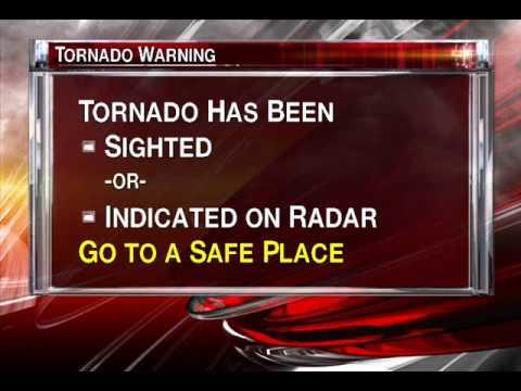 Emergency Alert Tornado Warning: Toronto - Radio Broadcast (Mock Up WITH MUSIC)