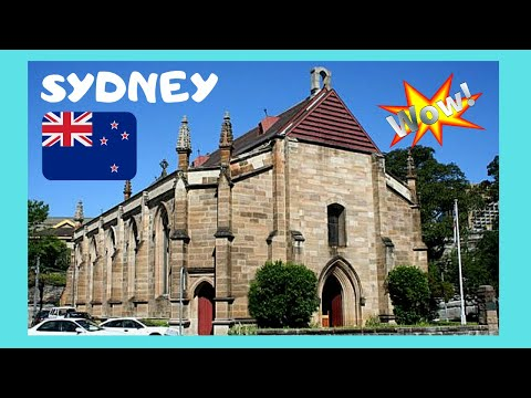 SYDNEY: The First Church ⛪ In Australia, The Garrison Church, Let's Go Inside!