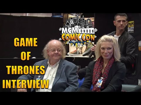 Game Of Thrones Panel @ MCM London Comic Con BUZZ Stage