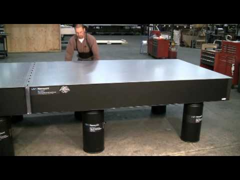 Modular Doubled Optical Table Installation Part 2 Youtube