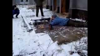 Les FN MAG mitrailleur