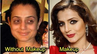20 Bollywood Actress  Who Look Unrecognizable Without Makeup