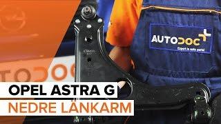 Byta Tändstift OPEL ASTRA G Hatchback (F48_, F08_) - guide