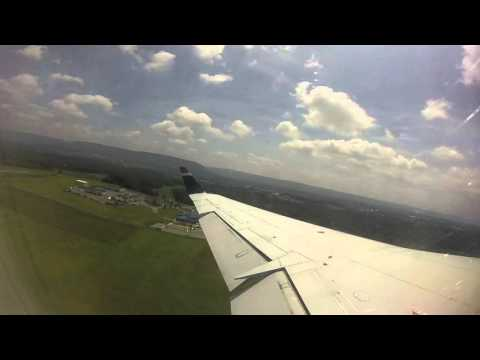 US Airways/American CRJ-200 Takeoff from University Park Airport