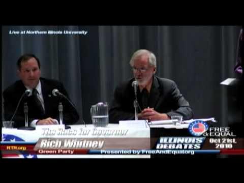 1st 2010 Free and Equal IL Gubernatorial Debate at Northern Illinois University