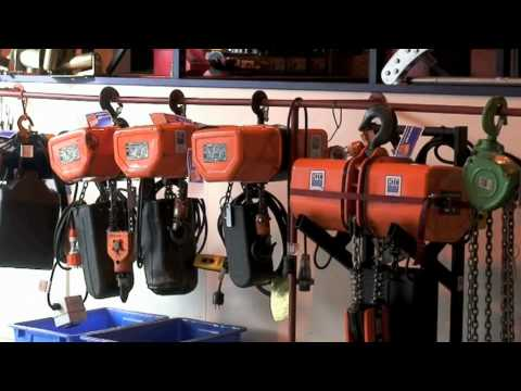 Lifting Equipment For Hire At HTC