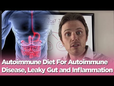 Autoimmune Diet For Autoimmune Disease, Leaky Gut and Inflammation