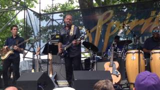 """Sacred Ground"" John Mooney & Bluesiana @ French Quarter Fest,New Orleans 4-10-2015"
