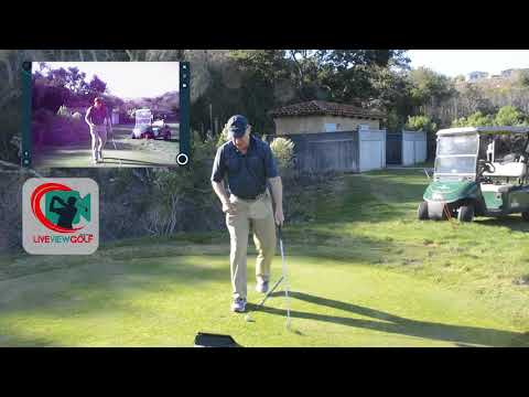 Front Facing Using Live View Golf