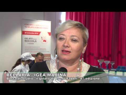"""BELLARIA IGEA MARINA: Borsa di studio """"il gelato di Bruno fabbri"""" 28-09-2016"""